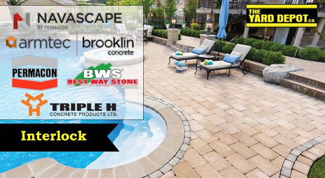 Interlock Stone in Ajax, Pickering, Whitby, Oshawa, Bowmanville