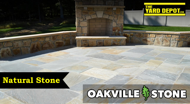 Oakville Natural Stone Suppliers in Durham Region Ajax, Pickering, Whitby, Oshawa, Bowmanville